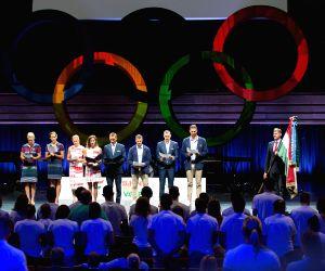 HUNGARY BUDAPEST RIO OLYMPICS 2016 OLYMPIC OATH CEREMONY