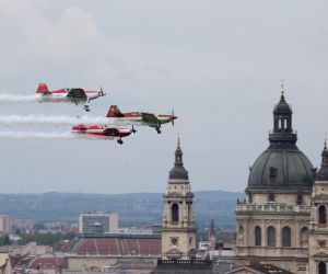 HUNGARY BUDAPEST LABOR DAY AIR SHOW
