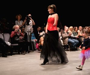 HUNGARY BUDAPEST DISABLED FASHION SHOW