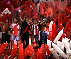 Buenos Aires (Argentina): South American Cup - River Plate v/s Boca Juniors