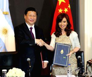 Buenos Aires: Xi Jinping meets Cristina Fernandez de Kirchner