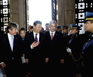 Buenos Aires: Chinese President Xi Jinping meets with Argentine Vice President
