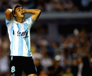 ARGENTINA-BUENOS AIRES-SOCCER-RACING CLUB VS SPORTING CRISTAL