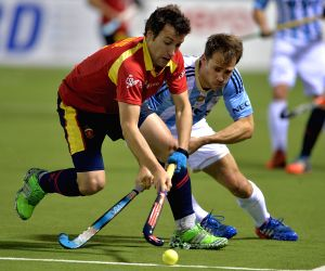 Buenos Aires: SPAIN VS. ARGENTINA - ockey World League semifinal