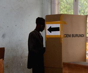 BURUNDI BUJUMBURA PRESIDENTIAL POLL