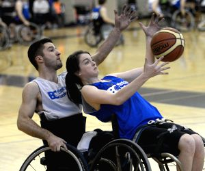 CANADA BURNABY WHEELCHAIR BASKETBALL
