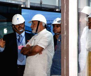 Modi visits IISCO Steel plant