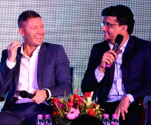 Michael Clarke's launches his autobiography 'My Story
