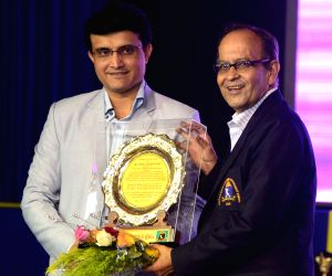 Sourav Ganguly at CAB awards