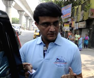 West Bengal Legislative Assembly polls - Phase 5 - Sourav Ganguly