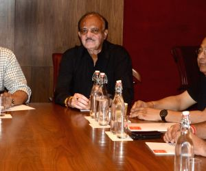 Sourav Ganguly during BCCI meeting