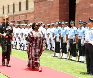 Kenya Defence Cabinet Secretary at South Block
