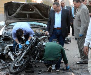 EGYPT TANTA POLICE TRAINING CENTER BLAST
