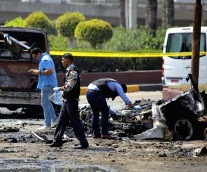 EGYPT CAIRO VEHICLE EXPLOSION