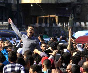 EGYPT-CAIRO-PROTEST-JERUSALEM-U.S. DECISION