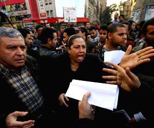 EGYPT CAIRO PROTEST COPTIC IS