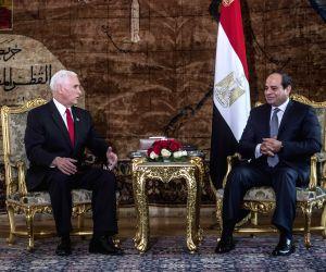 EGYPT CAIRO PRESIDENT U.S. VICE PRESIDENT MEETING