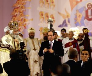 EGYPT-CAIRO-COPT-CHRISTMAS EVE-MASS