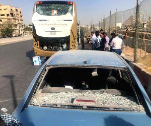 EGYPT CAIRO ACCIDENT TOURIST BUS EXPLOSION