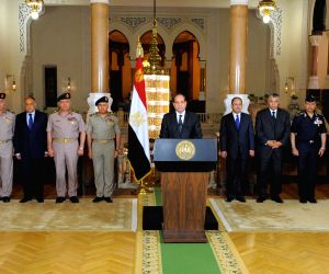 EGYPT CAIRO SHOOTING ATTACK PRESIDENT SPEECH
