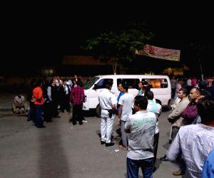 EGYPT CAIRO HELWAN POLICEMEN KILLING