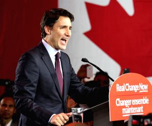 CANADA GENERAL ELECTIONS LIBERAL PARTY VICTORY