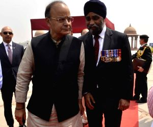 Canadian Defence Minister visits South Block