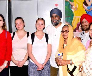 Canadian Defence Minister Harjit Singh Sajjan visits Pingalwara
