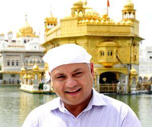 Prabhdeep Gill at Golden temple