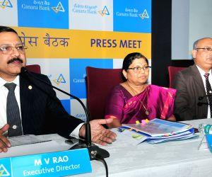 Canara Bank press conference