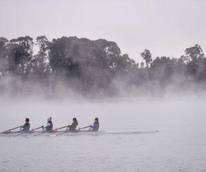 AUSTRALIA-CANBERRA-LAKE
