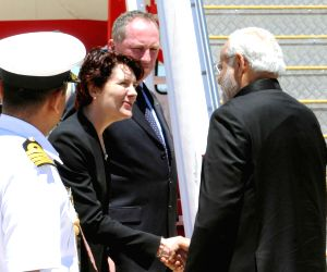 PM Modi departs from Canberra