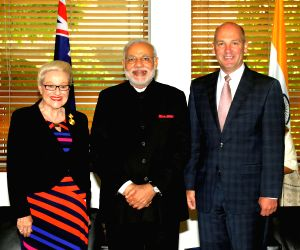 PM Modi interacts with Australian Parliamentarians