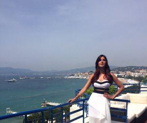 Cannes (France): Katrina Kaif interacts with media