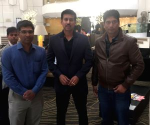 Cannes (France): Rajyavardhan Singh Rathore at 69th Cannes Film Festival