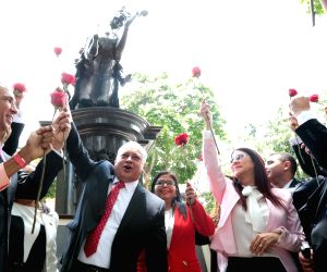 VENEZUELA-CARACAS-ANC-INSTALLATION
