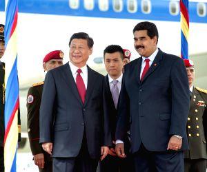 Xi Jinping meets Nicolas Maduro
