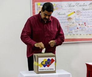 VENEZUELA-CARACAS-ELECTIONS-POLITCS-VOTE