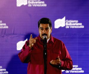 VENEZUELA-PRESIDENTIAL ELECTION-MADURO REELECTION