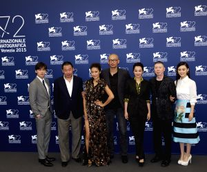 TALY-VENICE-FILM-FESTIVAL-72ND-LAO PAO ER-PHOTOCALL