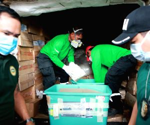 THE PHILIPPINES CAVITE ILLEGAL DRUGS DESTRUCTION