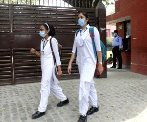CBSE practicals begin amid Covid protocol
