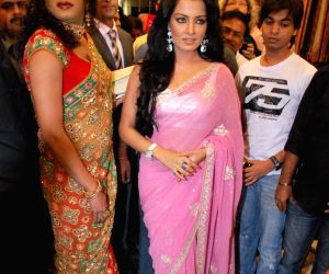 Celina Jaitley launches Jashn Showroom in Mumbai.