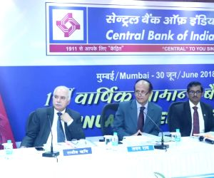 Central Bank of India Executive Director B. S. Shekhawat, Managing Director and CEO Rajeev Rishi, Chairman Tapan Ray, Executive Director B.K. Divakara and Director of the Bank N Nityananda ...