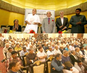 Launch of A.G. Noorani's book 'Destruction of Hyderabad'