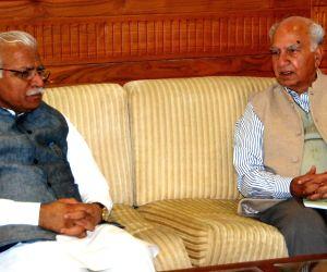 FCI chairman calls on Haryana CM