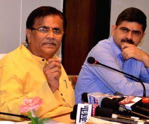 O.P. Dhankar's press conference