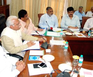 Haryana CM during the 26th Mewat Development Board