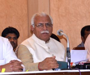 Haryana CM's press conference