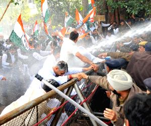 Congress march towards Haryana Assembly